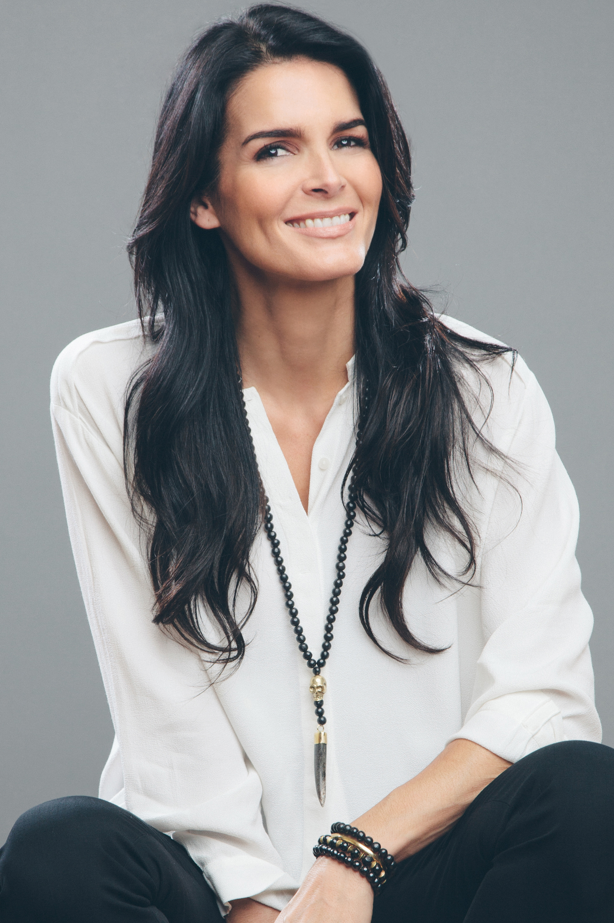 Angie Harmon At More Magazine September 2013: The Luxe List: Travel, Lifestyle & Leisure Authority